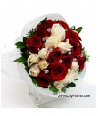 Crystal Rose Bouquet