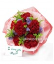 Carnation Bouquet - Mother's Day Special