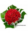 A2 Red Rose Bouquet