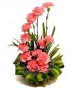 Carnations Table Arrangement