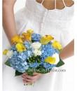 Calla Lily Hydrangea Bouquet
