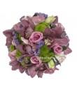 Wedding Bouquet - Pink Cymbidium Rose