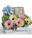 baby flower basket