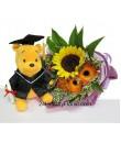 Graduation Grandeur - Graduation Hand Bouquet