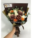 Bronze Rose Bouquet