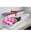 Valentine Box of Pink Roses