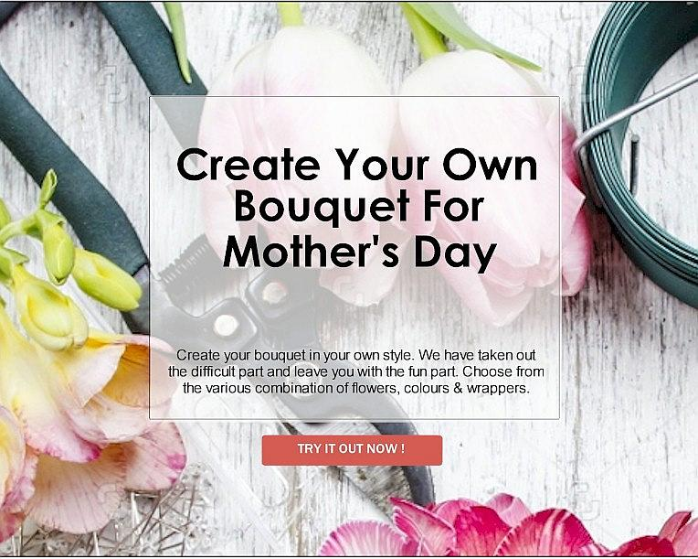 DIY Bouquet For Mother's Day