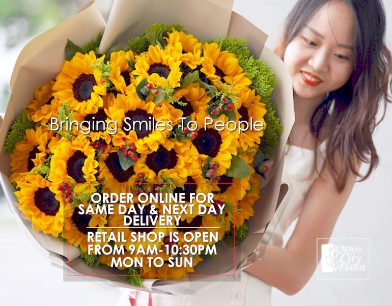 24hr Flower Delivery Singapore Same Day Flower Delivery Best Florist Delivery