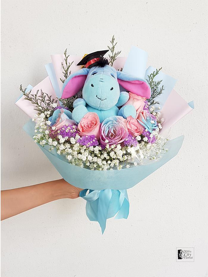 Graduating Eeyore Bouquet