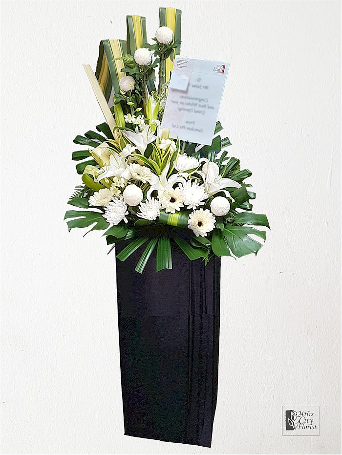 Condolence flower delivery singapore
