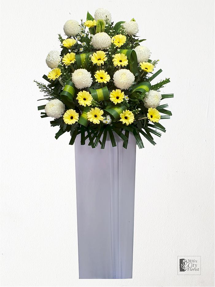 condolence flowers wreath