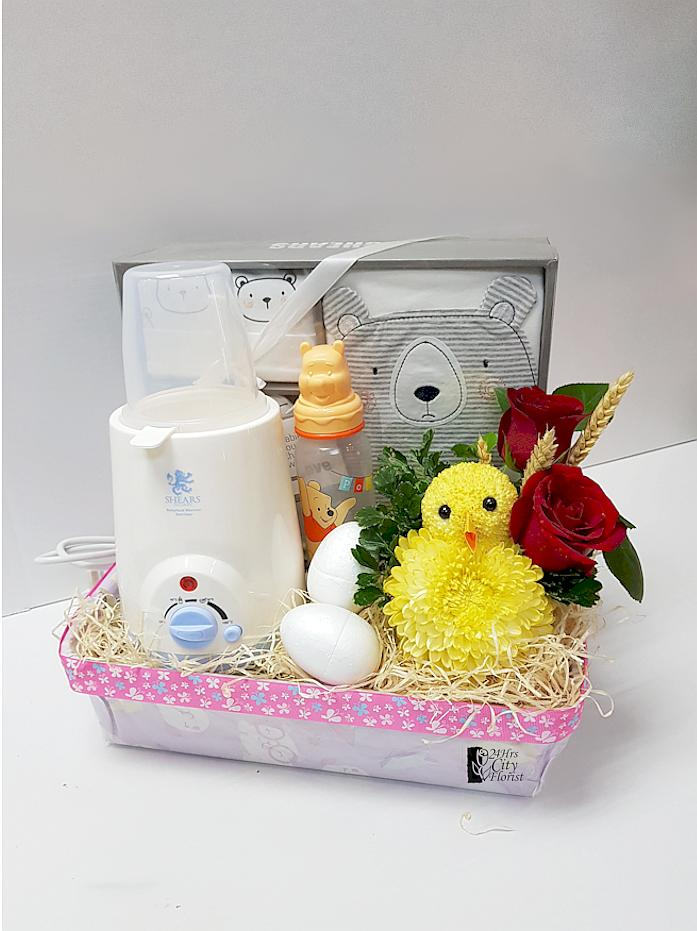 Baby Hamper With Chick
