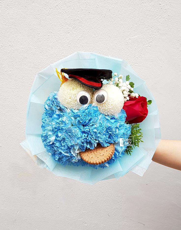 Cookie Monster Graduation