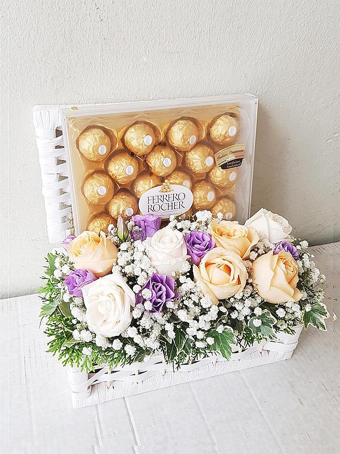 rocher gift basket