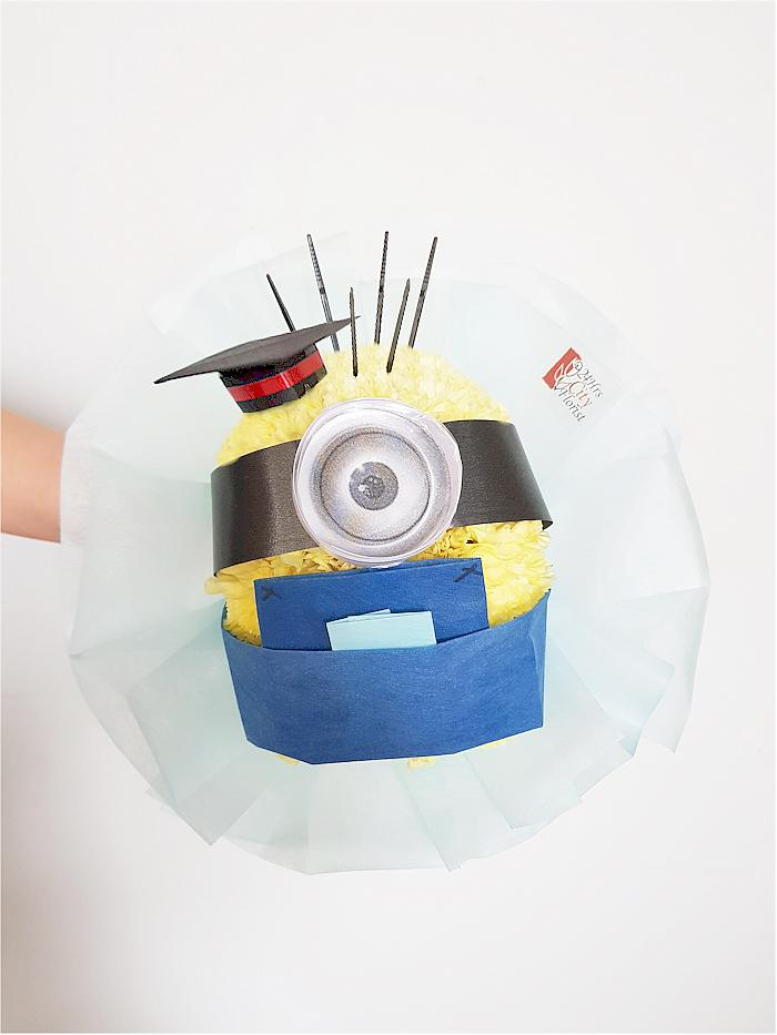 Graduating Minion Bouquet