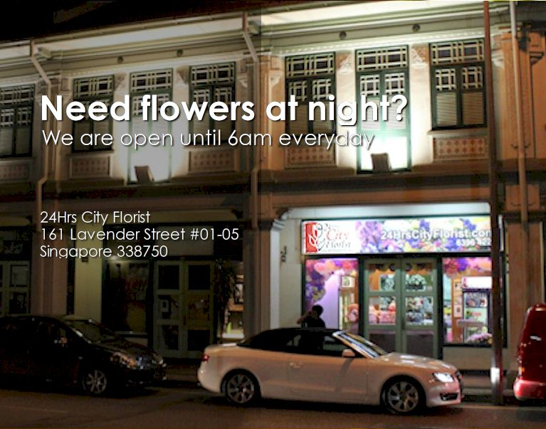 24 Hrs Florist in Singapore