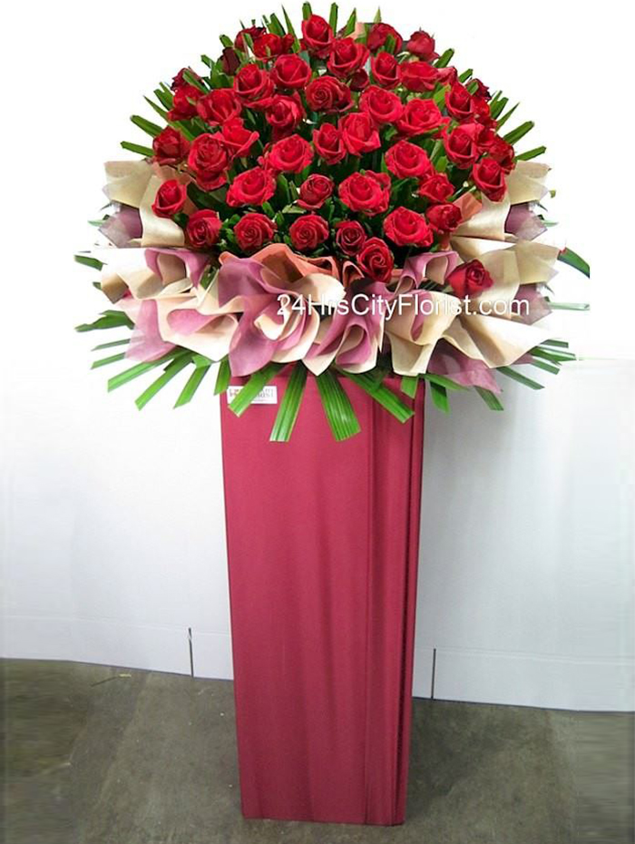 Aspiration - Congratulatory Rose Stand