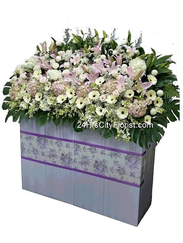 Highest Tribute Grand Condolence Flower Stand
