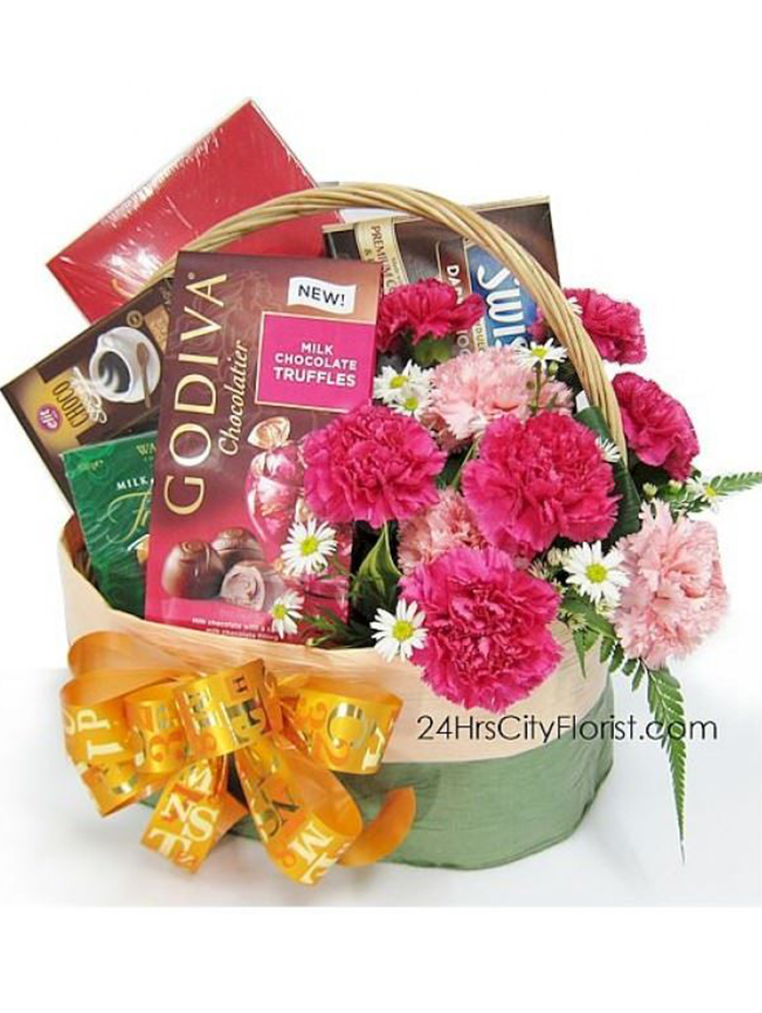 Chocolate Basket - Mother's Day Special