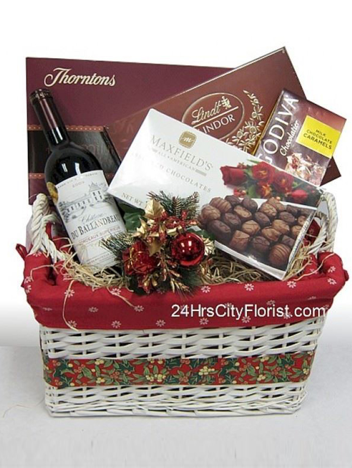 Fine Chocolates And Wine