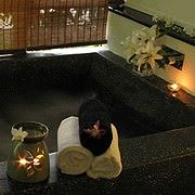 LUSH RETREAT: A Grand floral footbath + Body Scrub + 60 min Essential Body Massage (90 min)