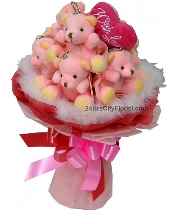 A1 Bear Bouquet