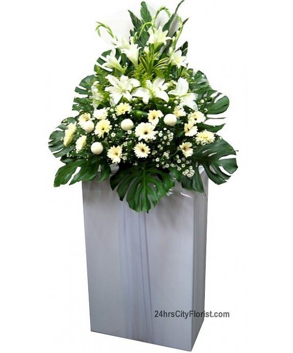 Condolance Flowers - Florist Singapore providing delivery everyday including Sundays & Public Holidays, 24Hrs flower delivery