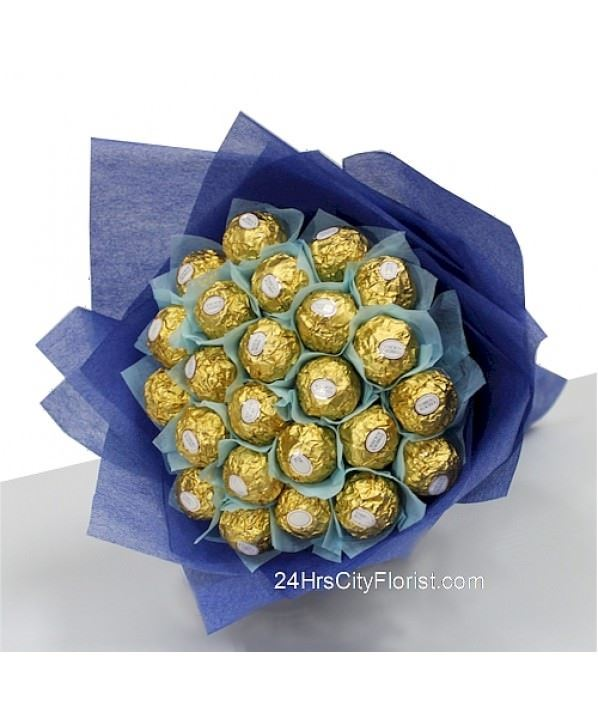 Blue Rocher Bouquet