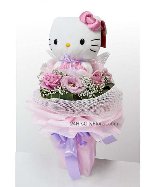 Hello Kitty Doll Bouquet