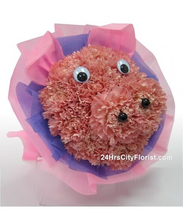 Piggy Bouquet