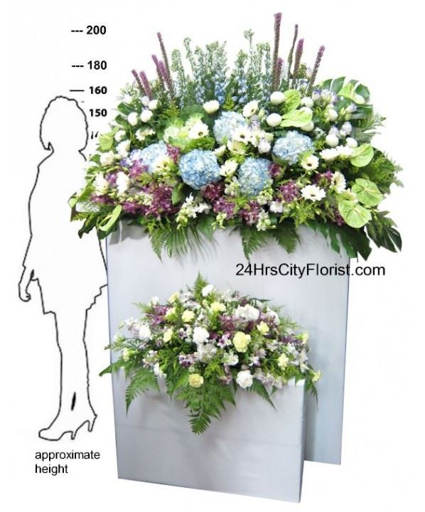 Grand Condolences Flower Arrangement