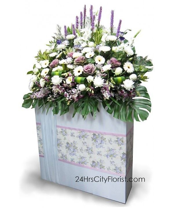 Large Condolences Flower Stand