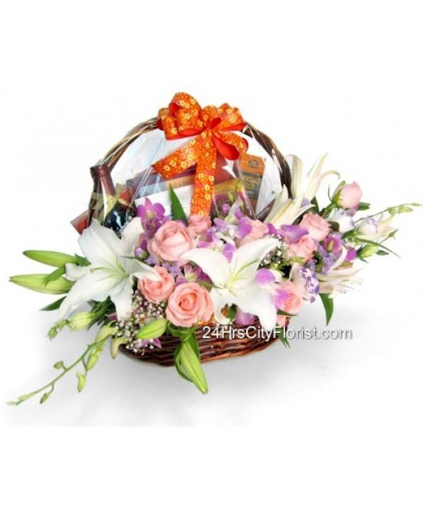 Flower Hamper For Any Occasion