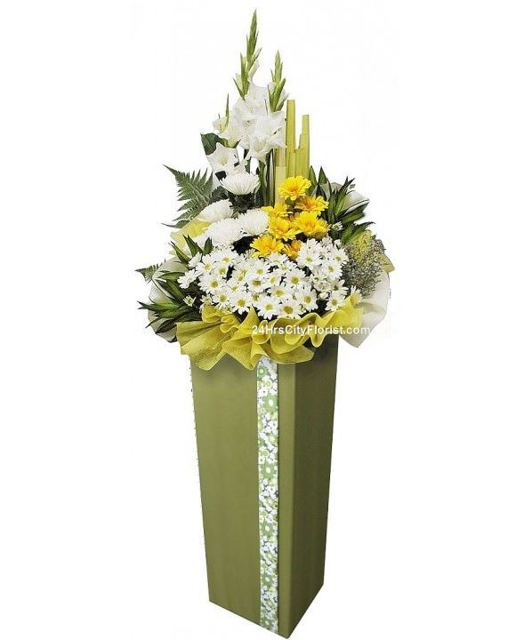 funeral flower wreath delivery singapore