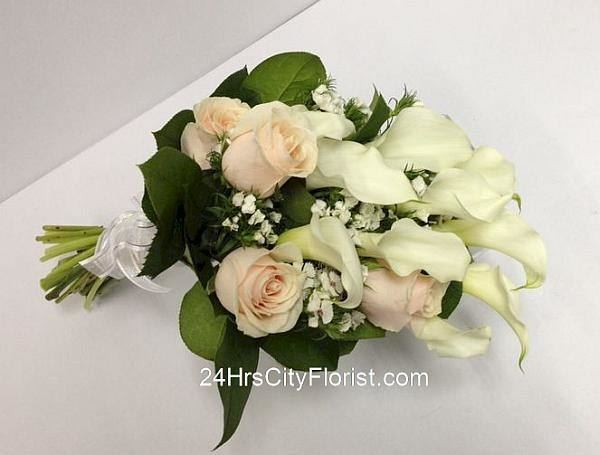 Bridal Bouquet - Calla Lilly