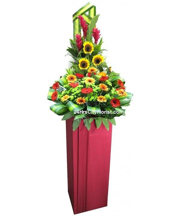 Congratulations Flower Stand