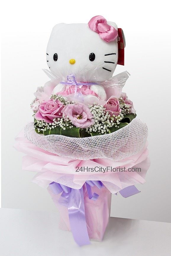 Hello Kitty Doll Bouquet By 24hrs City Florist Singapore