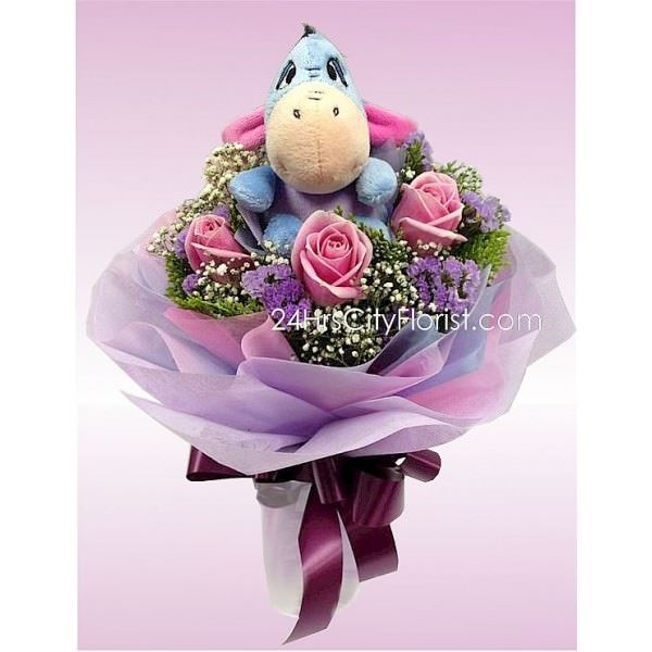 Eeyore Rose Bouquet
