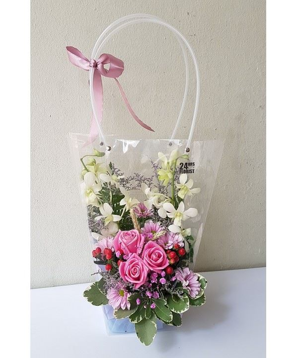 Flowers-To-Go Feminine Pink