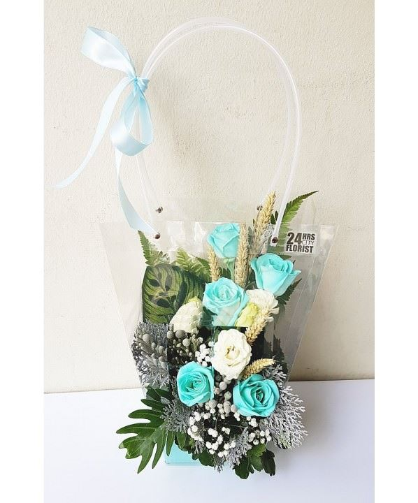 Flowers-To-Go Tiffany Blue