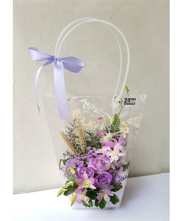 Flowers-To-Go Royal Purple